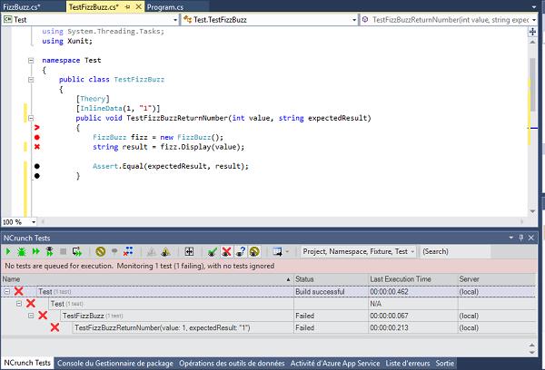 TTD avec NCrunch et Visual Studio